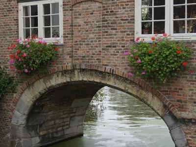 Water gate at the Oostpoort (East gate)