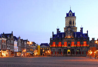Delft Town Hall by sunset - Daytrip: Go out with your camera